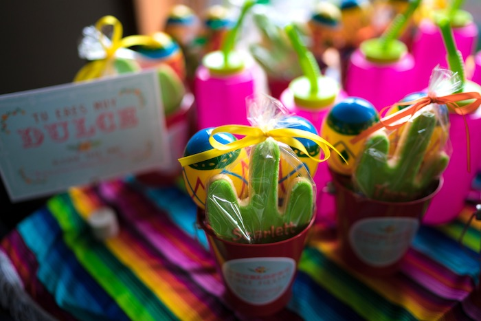 Favors from a Colorful First Birthday Fiesta via Kara's Party Ideas KarasPartyIdeas.com (24)