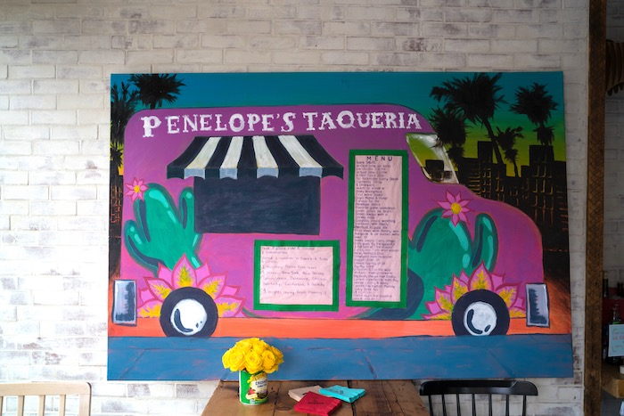 Taco Truck + Menu Backdrop from a Colorful First Birthday Fiesta via Kara's Party Ideas KarasPartyIdeas.com (18)