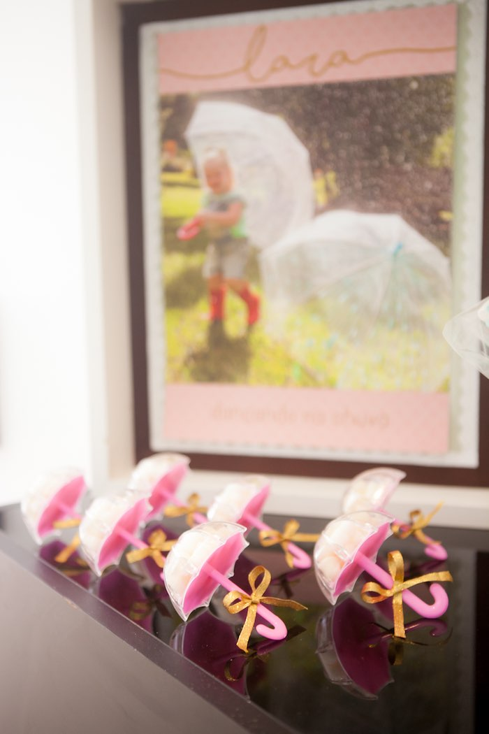 Umbrella Favors from a Dancing in the Rain Birthday Party via Kara's Party Ideas KarasPartyIdeas.com (7)