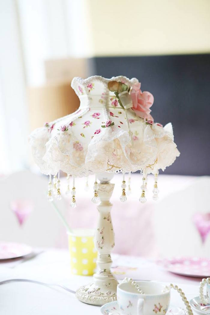 Table Lamp from a Disney's Tsum Tsum Inspired Birthday Party via Kara's Party Ideas | KarasPartyIdeas.com | The Place for All Things Party! (11)