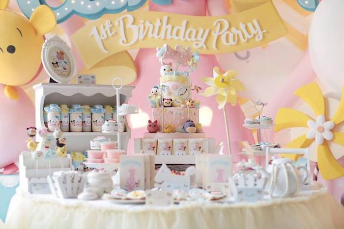 Karas Party Ideas Disneys Tsum Inspired Birthday