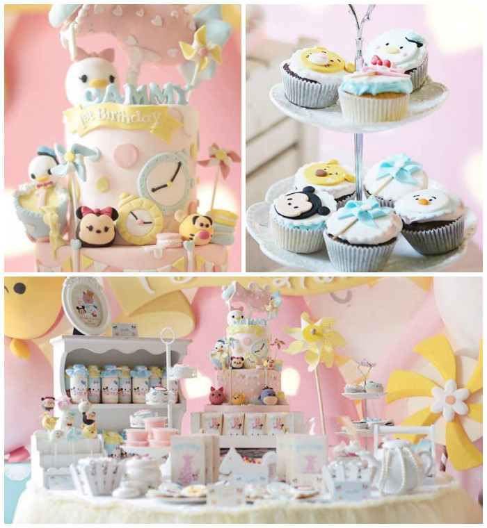 Tsum Tsum Birthday Cake Ideas