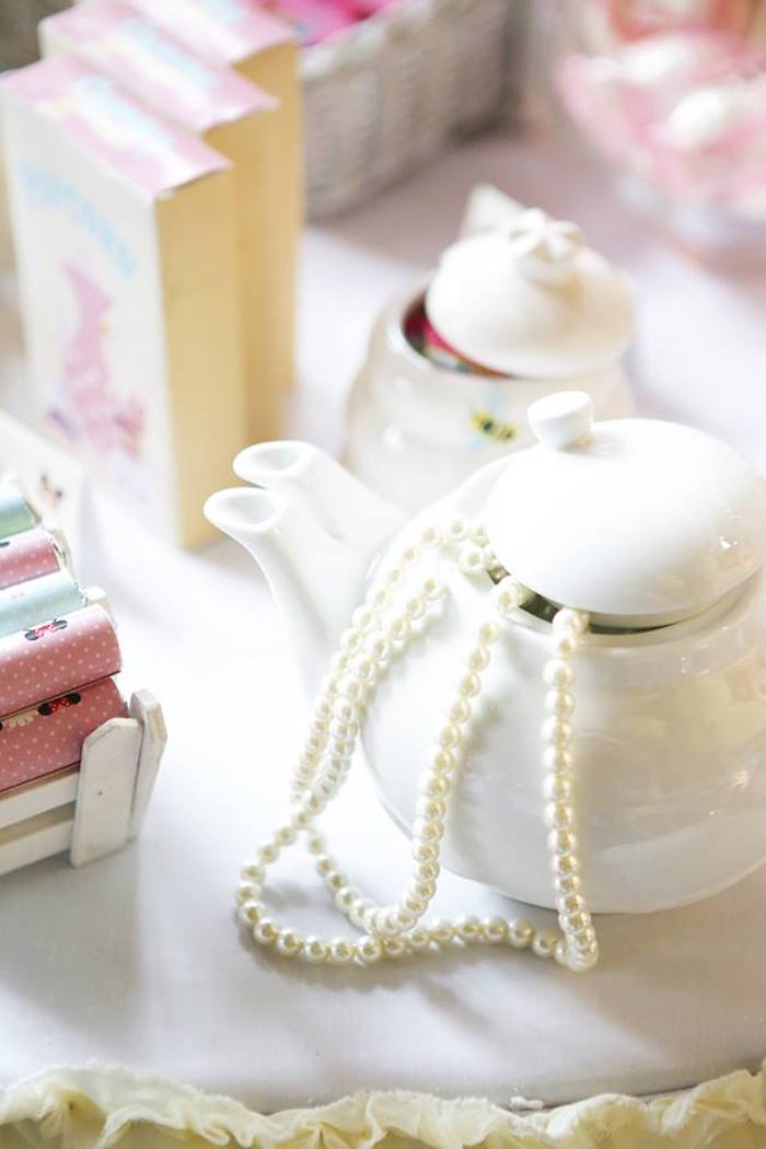 Tea Kettle Decor Piece from a Disney's Tsum Tsum Inspired Birthday Party via Kara's Party Ideas | KarasPartyIdeas.com | The Place for All Things Party! (18)