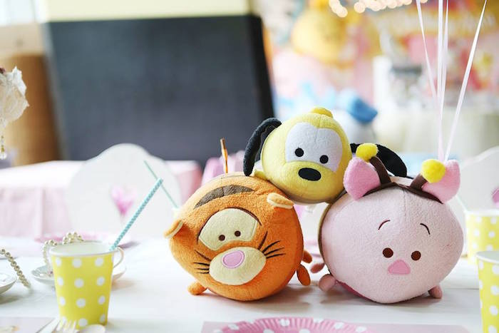 Tsum Tsums from a Disney's Tsum Tsum Inspired Birthday Party via Kara's Party Ideas | KarasPartyIdeas.com | The Place for All Things Party! (17)