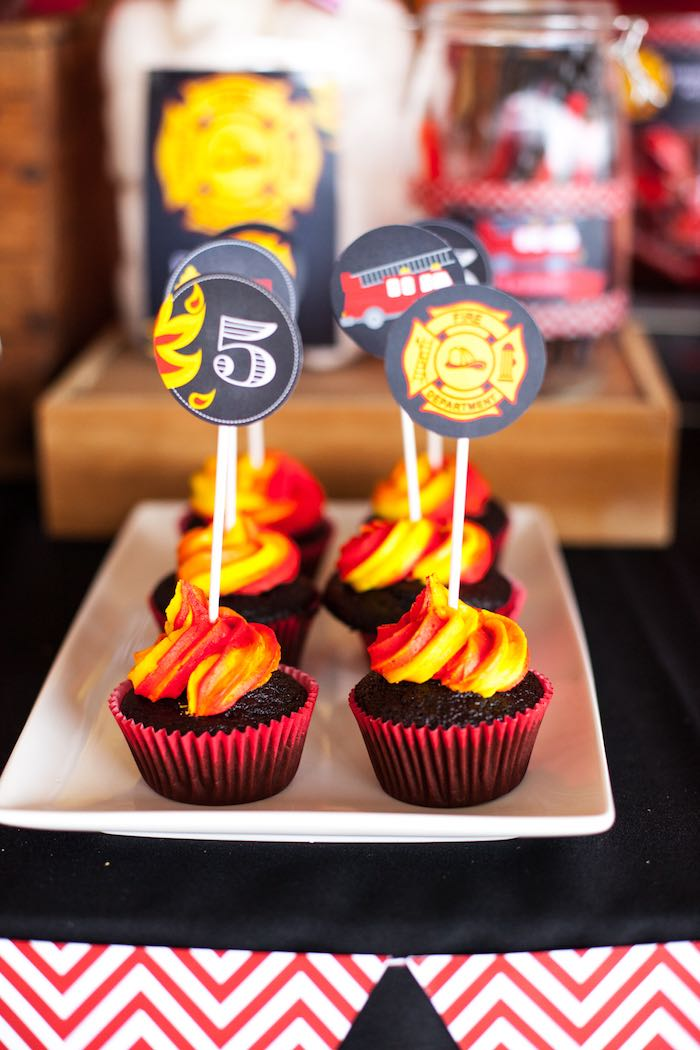 Karas Party Ideas Fireman Birthday Party Karas Party Ideas