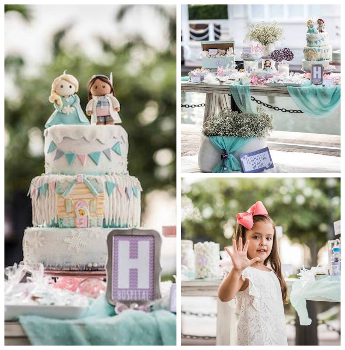 Frozen + Doc McStuffins Birthday Party via Kara's Party Ideas KarasPartyIdeas.com (2)