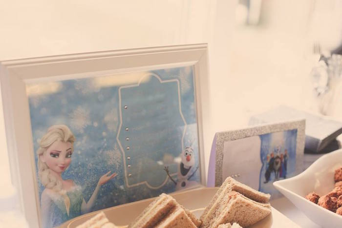 Stationery from a Frozen Inspired Birthday Party via Kara's Party Ideas | KarasPartyIdeas.com | The Place for All Things Party! (10)