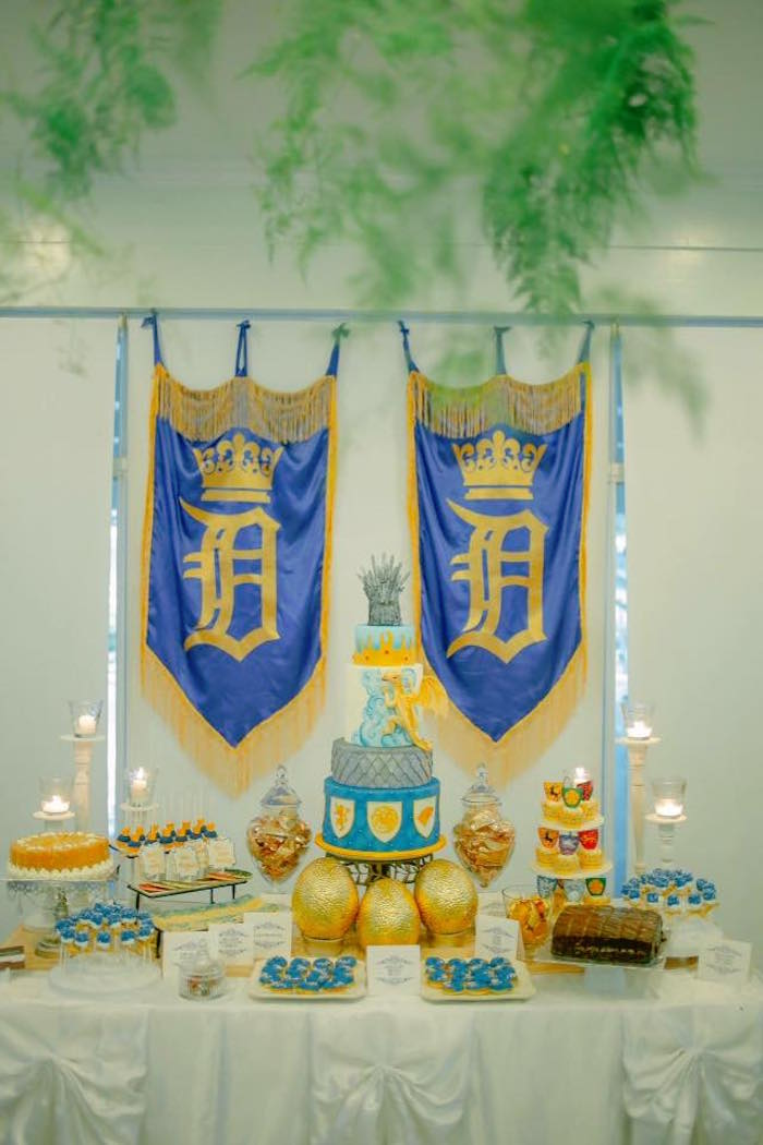 Dessert Table from a Game of Thrones Birthday Party via Kara's Party Ideas | KarasPartyIdeas.com (20)