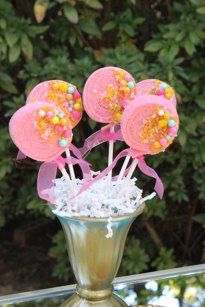 Candy Kabobs from a Garden Party Baby Shower via Kara's Party Ideas KarasPartyIdeas.com (3)