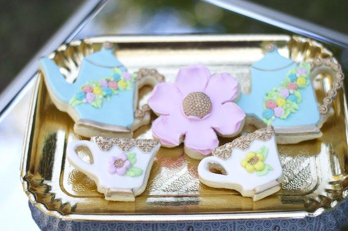 Cookies from a Garden Party Baby Shower via Kara's Party Ideas KarasPartyIdeas.com (33)