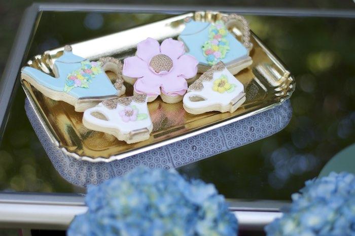 Cookies from a Garden Party Baby Shower via Kara's Party Ideas KarasPartyIdeas.com (32)