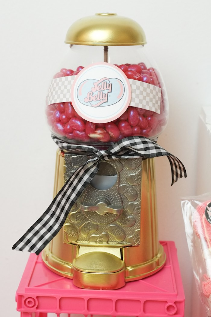 Candy Machine from a Girly Race Car Birthday Party via Kara's Party Ideas | KarasPartyIdeas.com (25)