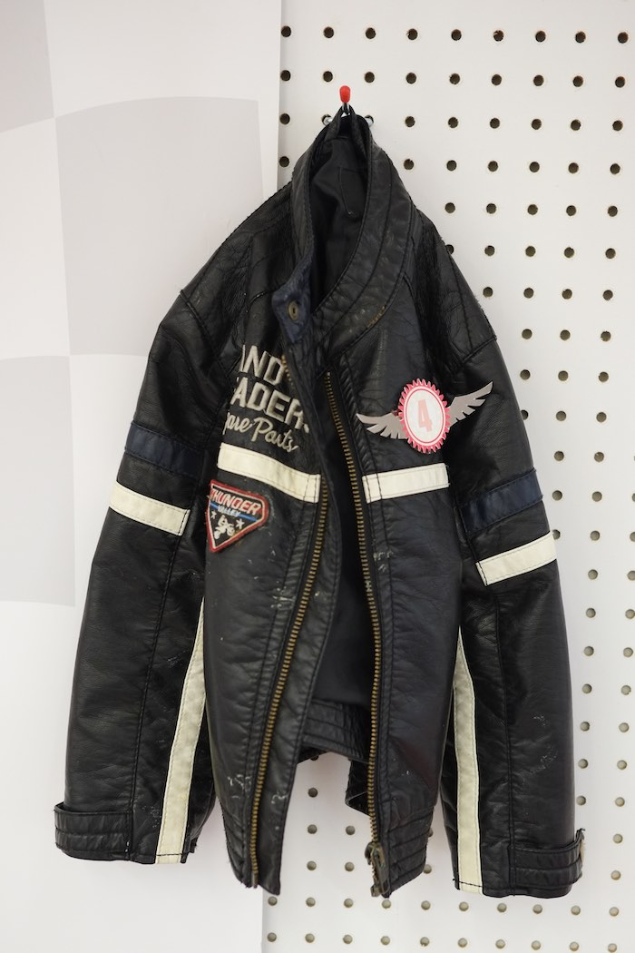 Race Car Driver Jacket from a Girly Race Car Birthday Party via Kara's Party Ideas | KarasPartyIdeas.com (15)