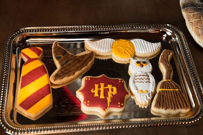 Cookies from a Harry Potter Birthday Party via Kara's Party Ideas KarasPartyIdeas.com (13)