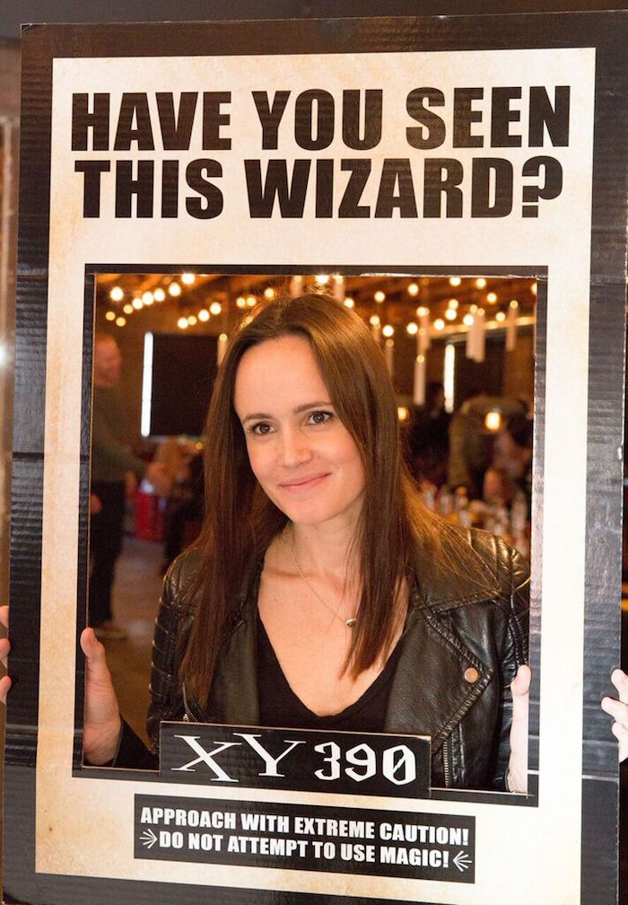 Photo Op from a Harry Potter Birthday Party via Kara's Party Ideas KarasPartyIdeas.com (11)