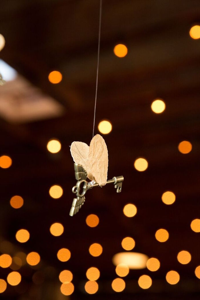 Winged Key from a Harry Potter Birthday Party via Kara's Party Ideas KarasPartyIdeas.com (9)