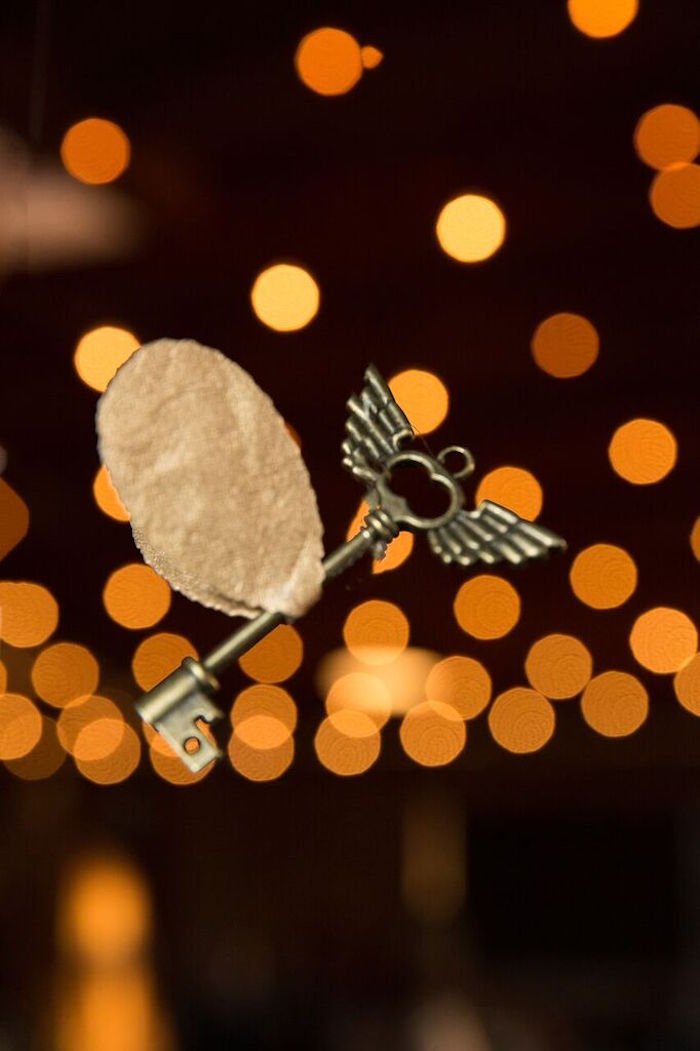 Winged Key from a Harry Potter Birthday Party via Kara's Party Ideas KarasPartyIdeas.com (6)
