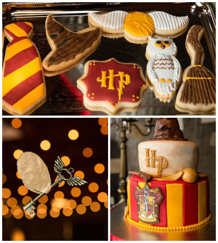 Harry Potter Birthday Party via Kara's Party Ideas KarasPartyIdeas.com (1)