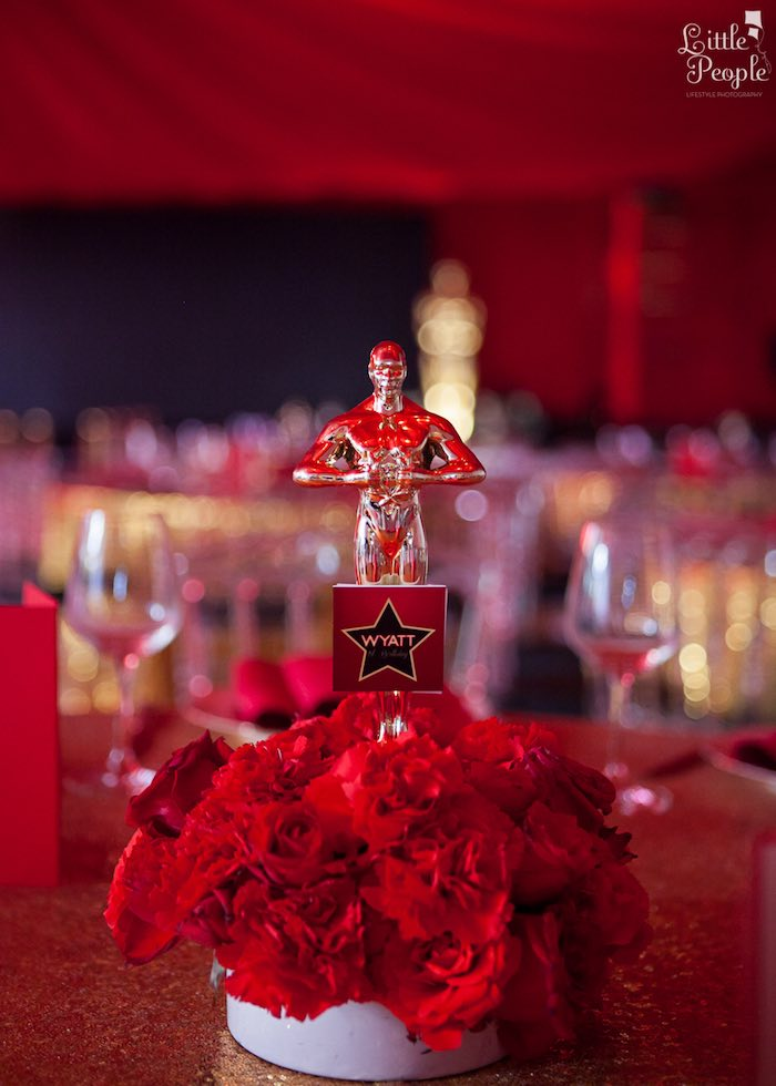Kara S Party Ideas Hollywood Oscars 1st Birthday Party