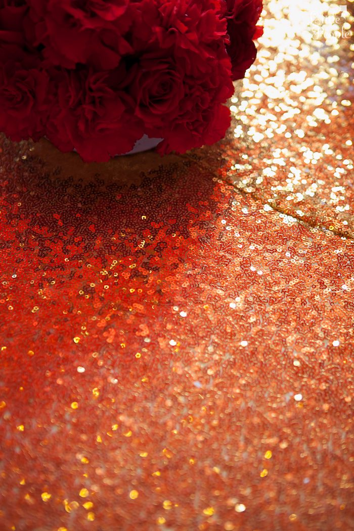 Sequin Table Cover from a Hollywood + Oscars Inspired 1st Birthday Party via Kara's Party Ideas KarasPartyIdeas.com (13)