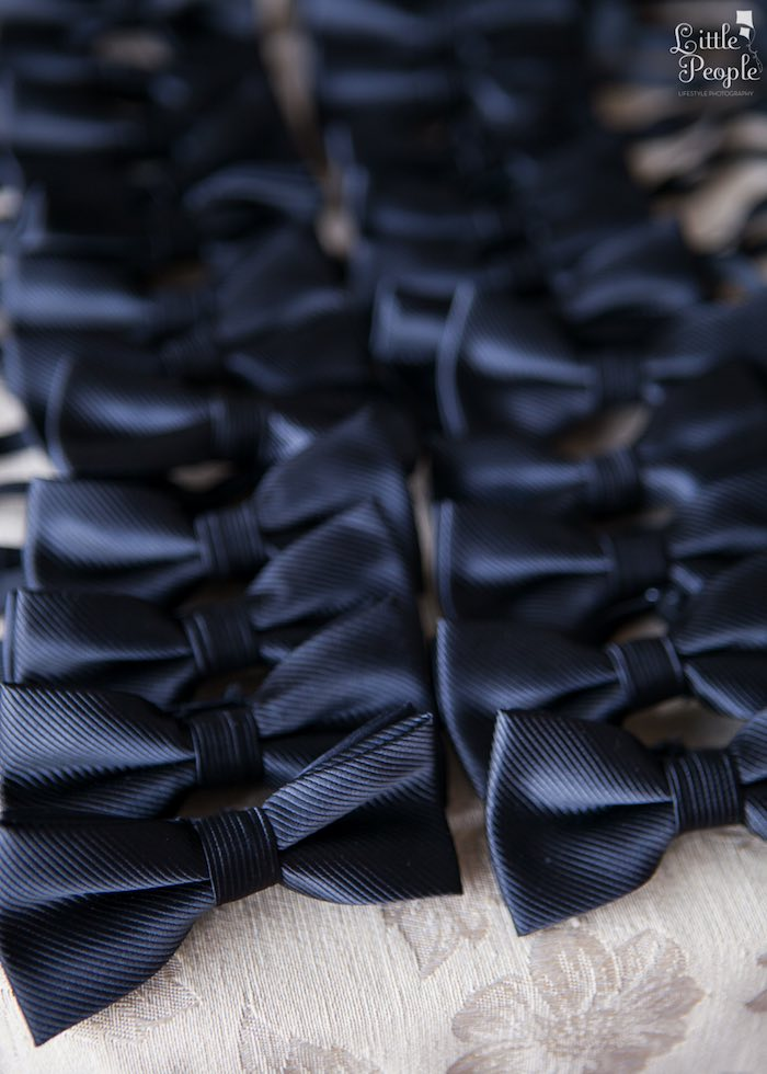 Bow Ties from a Hollywood + Oscars Inspired 1st Birthday Party via Kara's Party Ideas KarasPartyIdeas.com (21)