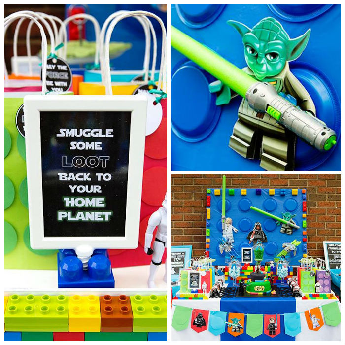 Lego Star Wars Birthday Party via Kara's Party Ideas | KarasPartyIdeas.com | The Place for All Things Party! (2)