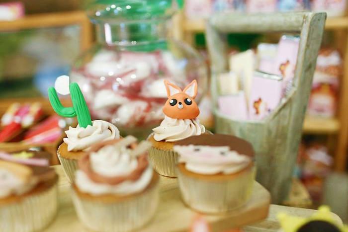 Cupcakes from a Little Cowboy Birthday Party via Kara's Party Ideas | KarasPartyIdeas.com (17)