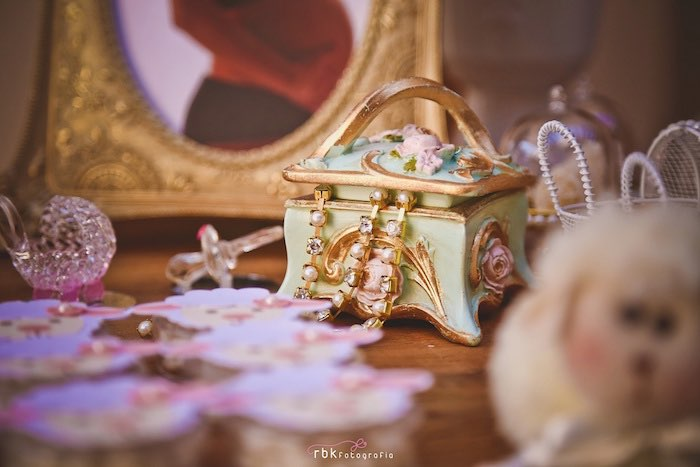Jewelry Box Decor Piece from a Little Lamb Baby Shower via Kara's Party Ideas | KarasPartyIdeas.com (30)