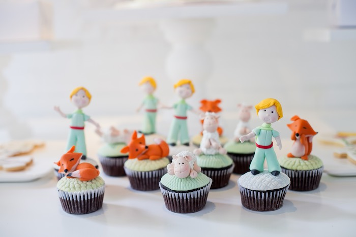 Kara S Party Ideas Little Prince Inspired Baptism Party
