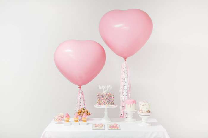 Sweet Table from a Little Sprinkles Birthday Party via Kara's Party Ideas | KarasPartyIdeas.com | The Place for All Things Party! (20)