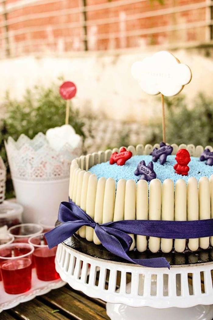 Cake from a Picnic Themed Birthday Party via Kara's Party Ideas   KarasPartyIdeas.com (14)