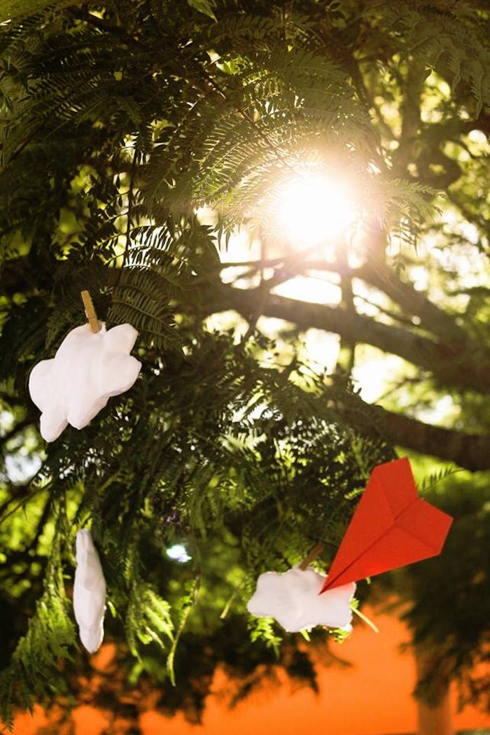 Hanging Decorations from a Picnic Themed Birthday Party via Kara's Party Ideas   KarasPartyIdeas.com (10)