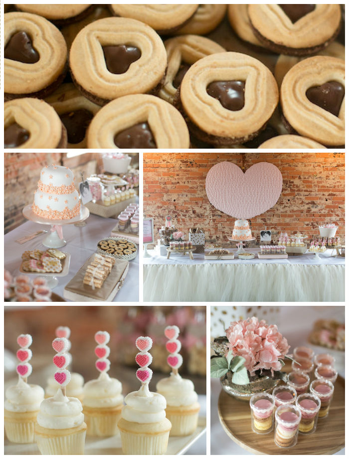 Kara's Party Ideas Pink & Coral Heart Themed Valentines