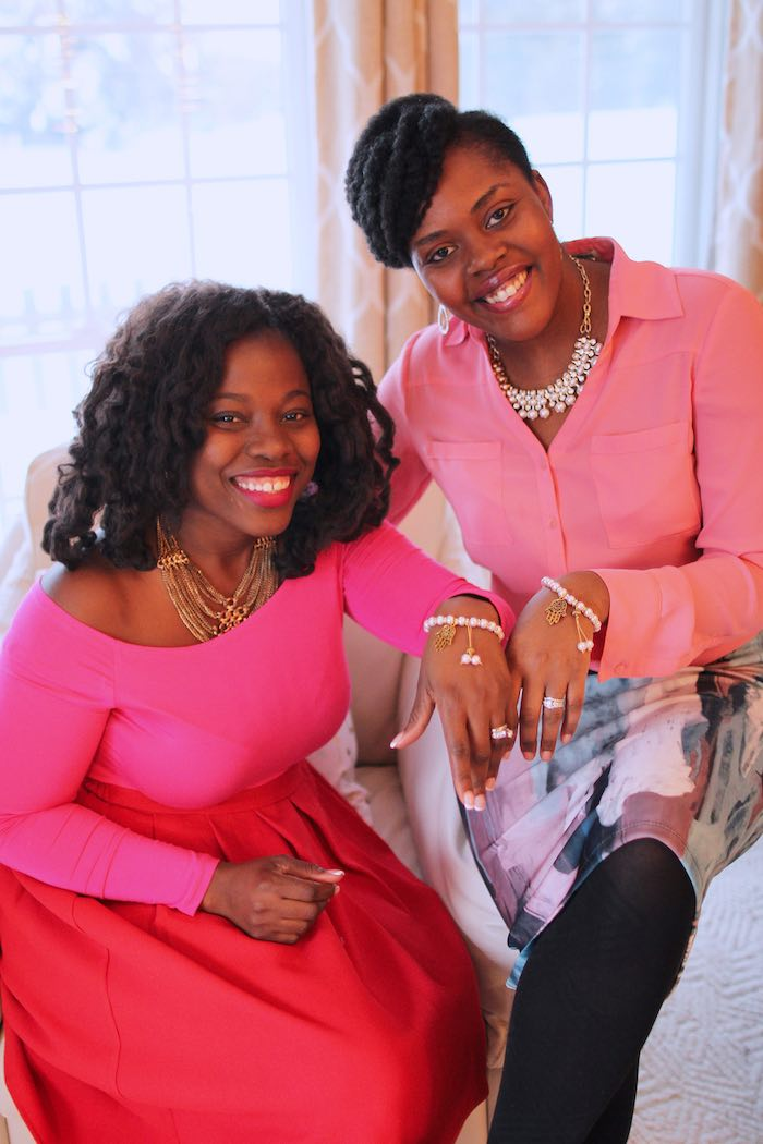 Gals from a Pink + Gold Galentines Valentines Party via Kara's Party Ideas | KarasPartyIdeas.com | The Place for All Things Party! (4)