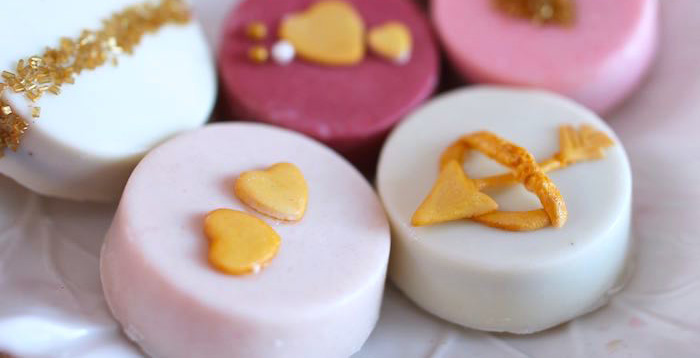 Chocolate Covered Oreos from a Pink + Gold Galentines Valentines Party via Kara's Party Ideas | KarasPartyIdeas.com | The Place for All Things Party! (3)