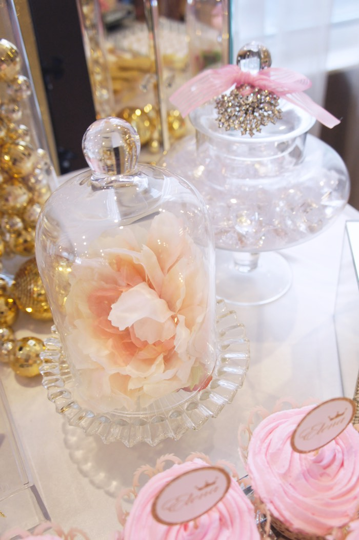 Apothecary Jars from a Pink & Gold Princess Party via Kara's Party Ideas | KarasPartyIdeas.com (25)