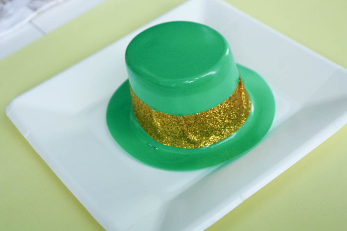 Leprechaun Party Hat from a Rainbow St. Patrick's Day Party via Kara's Party Ideas KarasPartyIdeas.com (8)