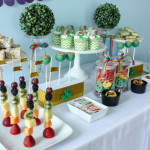 Sweet Tablescape from a Rainbow St. Patrick's Day Party via Kara's Party Ideas KarasPartyIdeas.com (30)