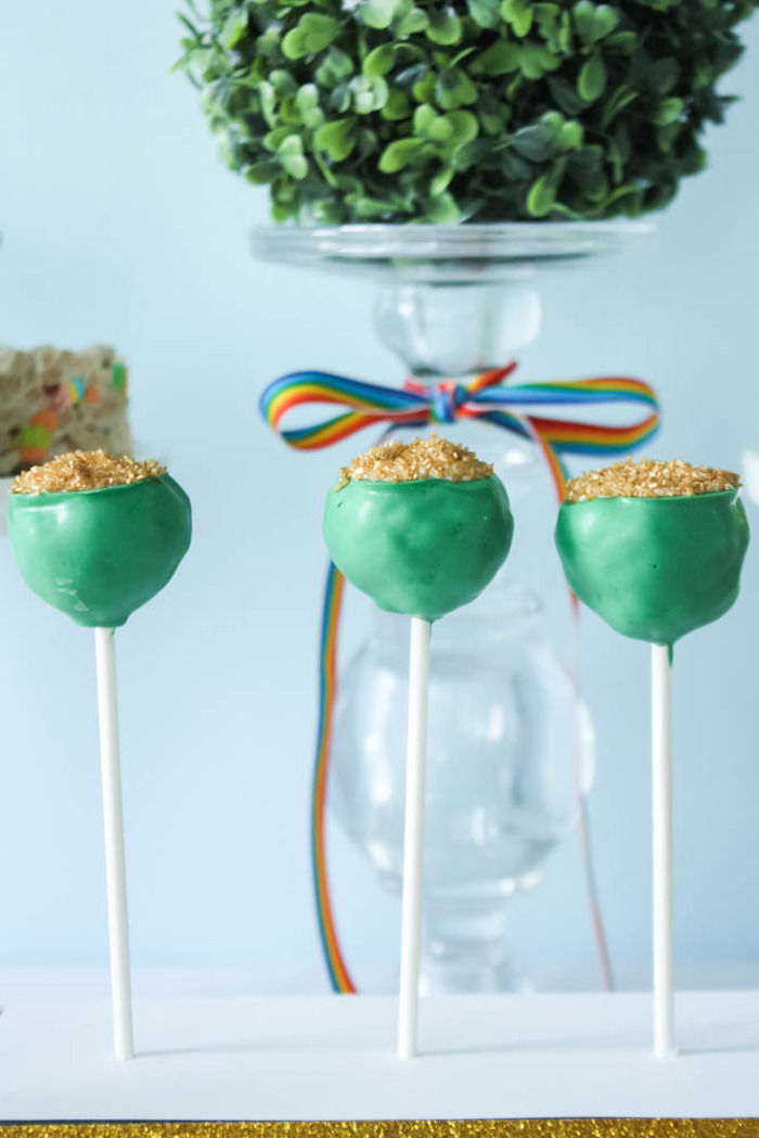Kara S Party Ideas Colorful Rainbow St Patrick S Day