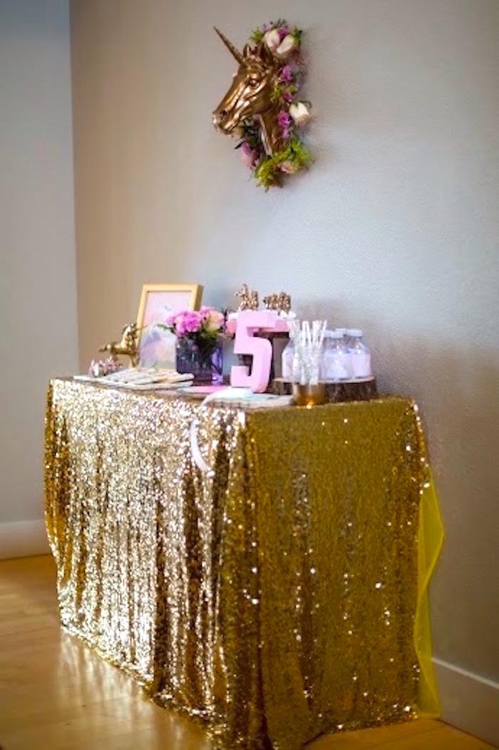 karas party ideas rainbows and unicorns birthday party