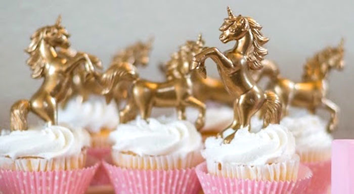 Cupcakes from a Rainbows & Unicorns Birthday Party via Kara's Party Ideas KarasPartyIdeas.com (1)