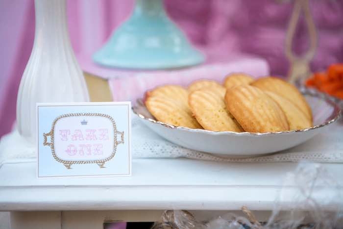 Shortbread from a Shabby Chic Alice In Wonderland Birthday Party via Kara's Party Ideas KarasPartyIdeas.com (25)
