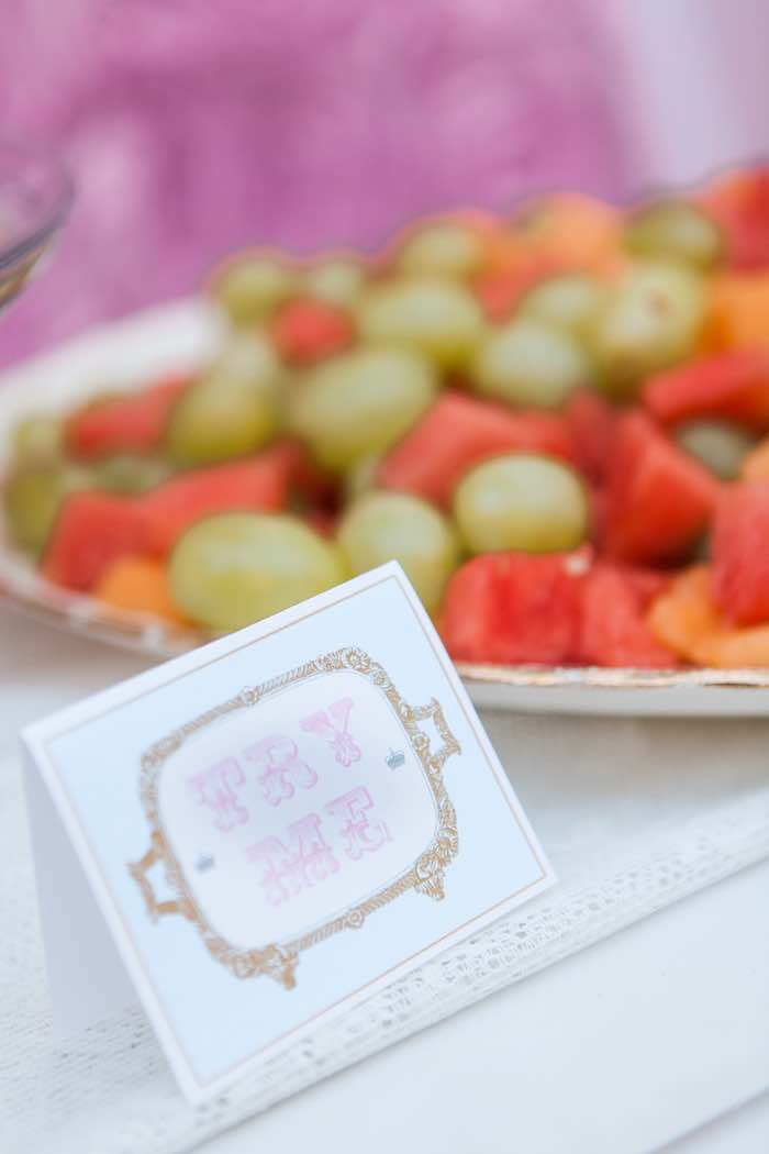 """Try Me"" Tag from a Shabby Chic Alice In Wonderland Birthday Party via Kara's Party Ideas KarasPartyIdeas.com (24)"