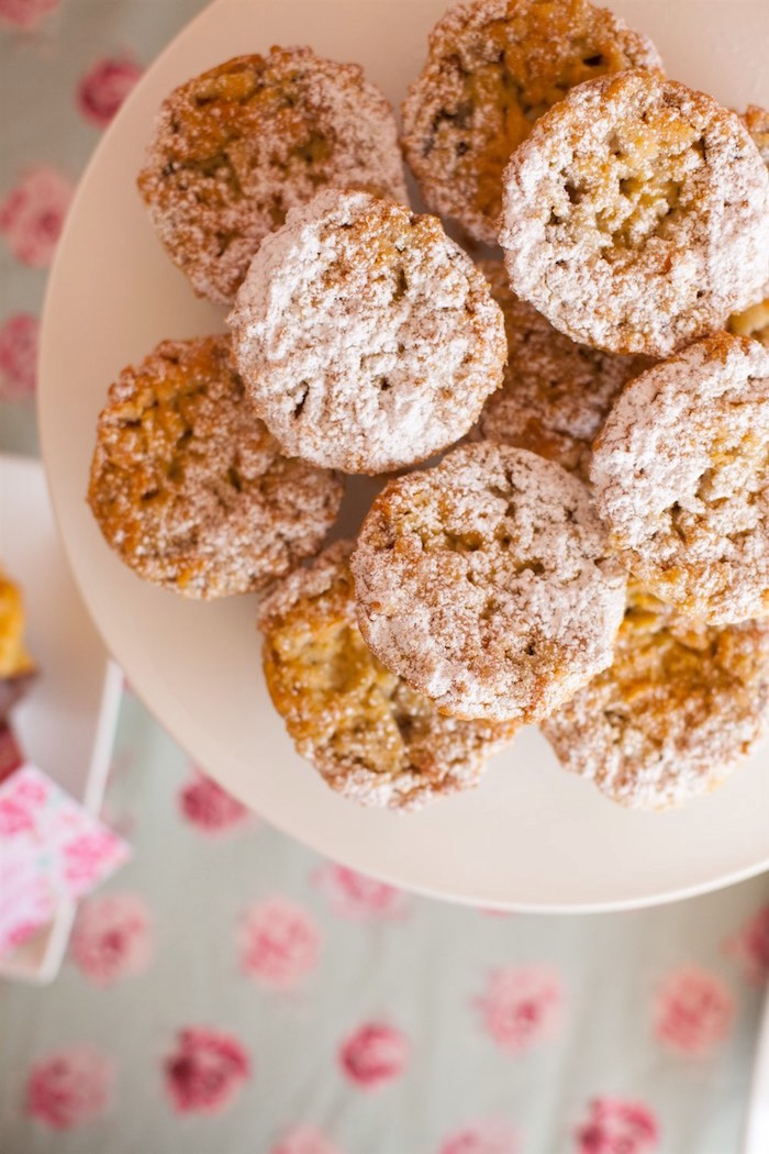 Cookies from a Shabby Chic Baking Themed Birthday Party via Kara's Party Ideas KarasPartyIdeas.com (8)