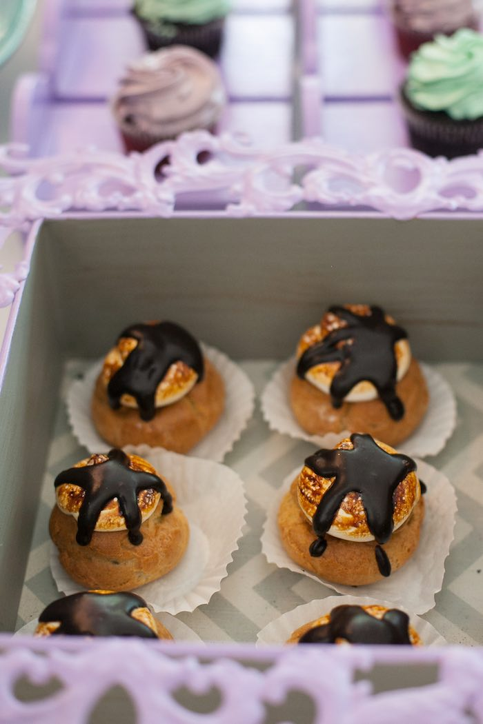 Sweets from a Sleepover Birthday Party via Kara's Party Ideas | KarasPartyIdeas.com (13)