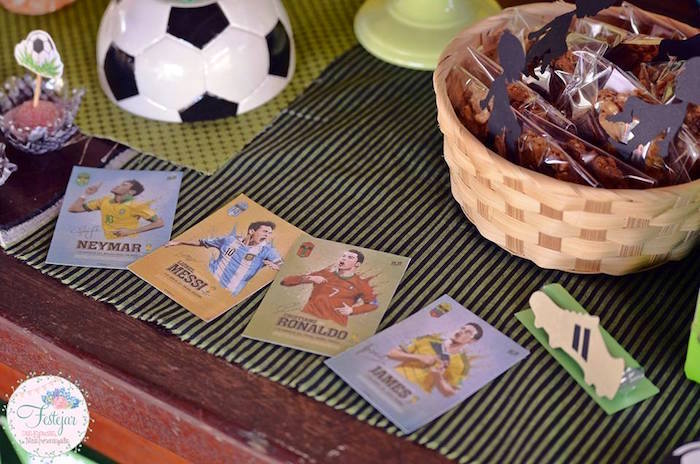 Soccer Cards from a Soccer Themed Birthday Party via Kara's Party Ideas | KarasPartyIdeas.com | The Place for All Things Party! (24)
