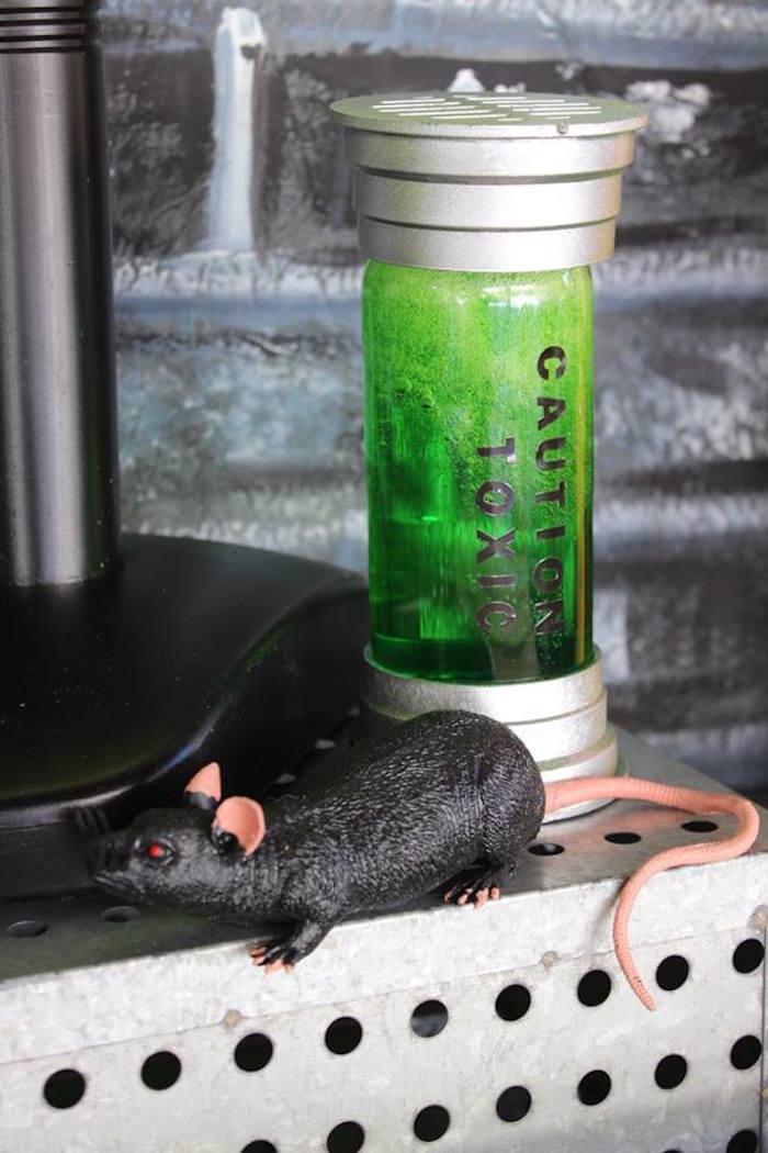 Toxic Slime & Rat Decor from a Teenage Mutant Ninja Turtles Party via Kara's Party Ideas | KarasPartyIdeas.com (19)