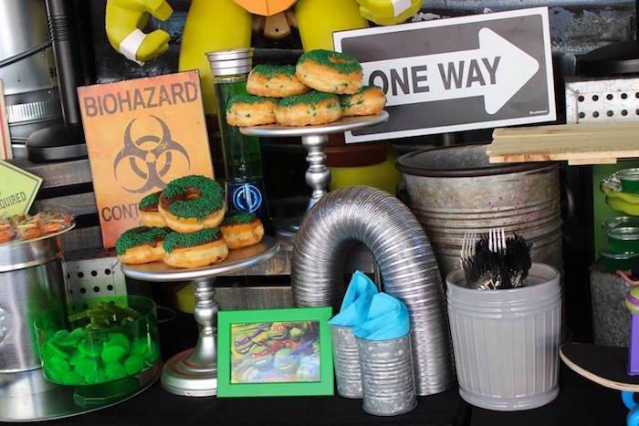 Karas Party Ideas Totally Rad Teenage Mutant Ninja Turtles Party