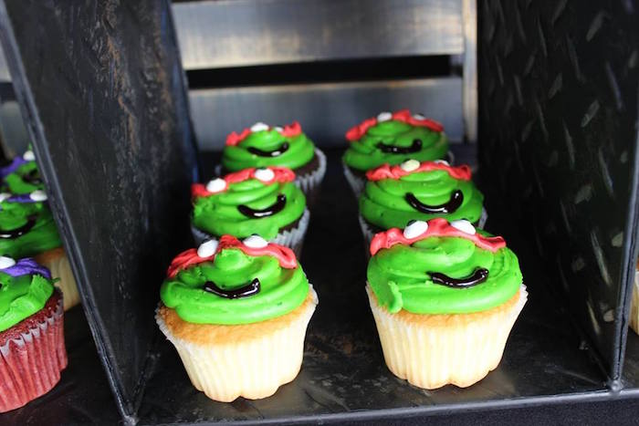 Karas Party Ideas Totally Rad Teenage Mutant Ninja Turtles Party