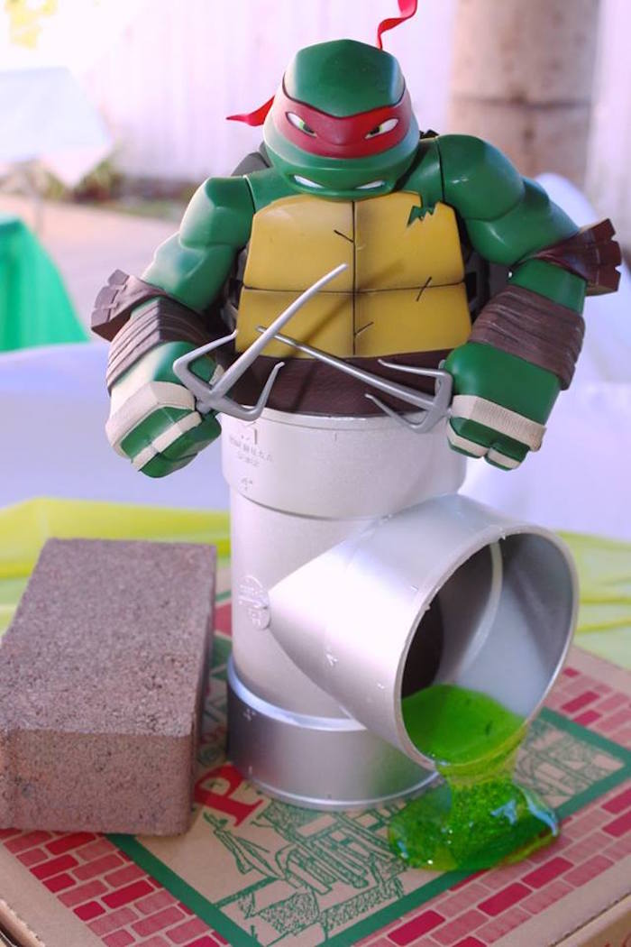 Kara 39 s party ideas totally rad teenage mutant ninja for Tmnt decorations